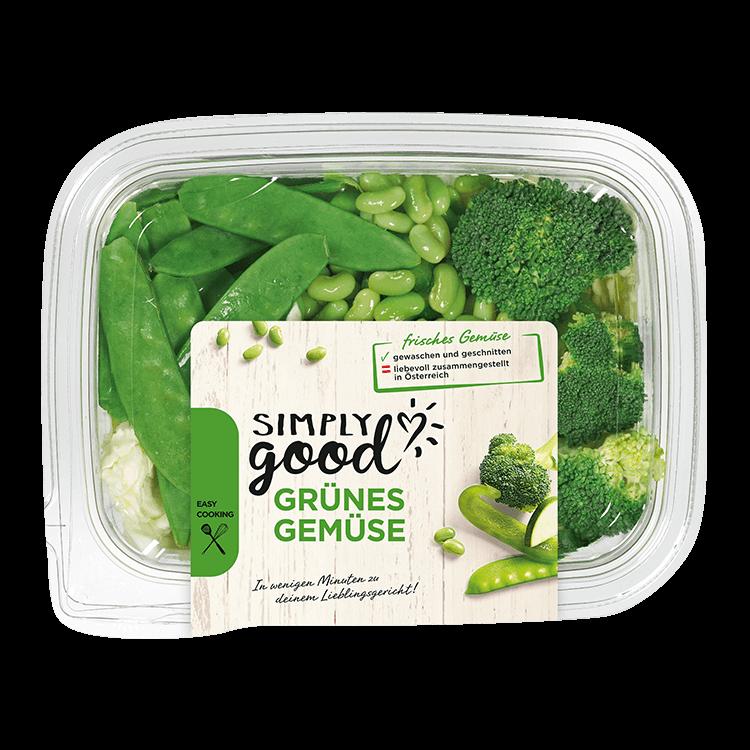 Grünes Gemüse - gesunde Rezepte | Simply Good